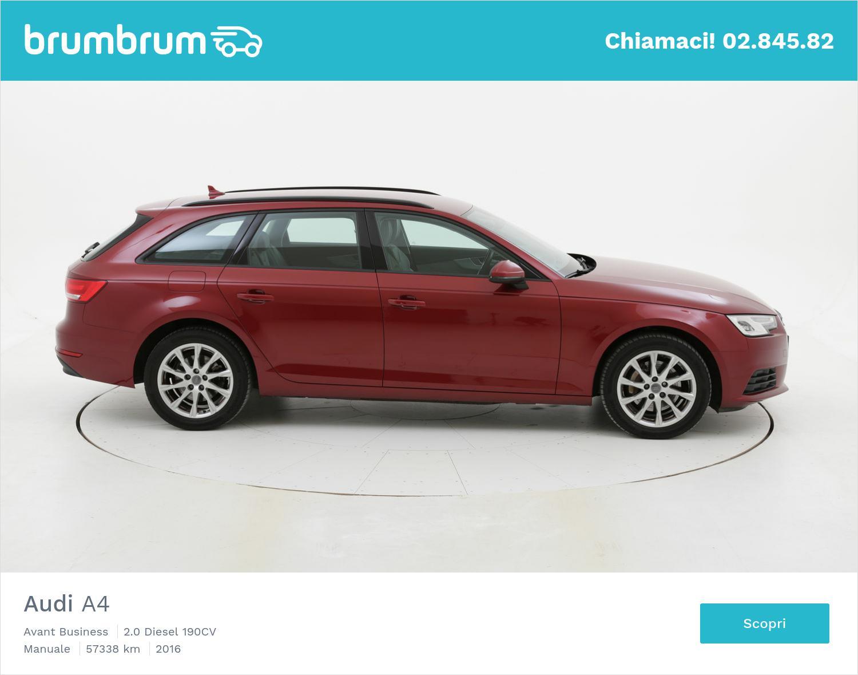 Audi A4 usata del 2016 con 57.660 km | brumbrum