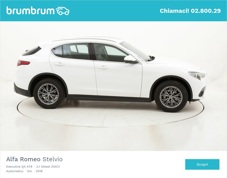 Alfa Romeo Stelvio Executive Q4 AT8 usata del 2018 con 146.785 km   brumbrum