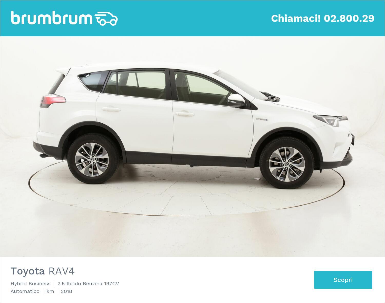 Toyota RAV4 Hybrid Business usata del 2018 con 41.516 km   brumbrum