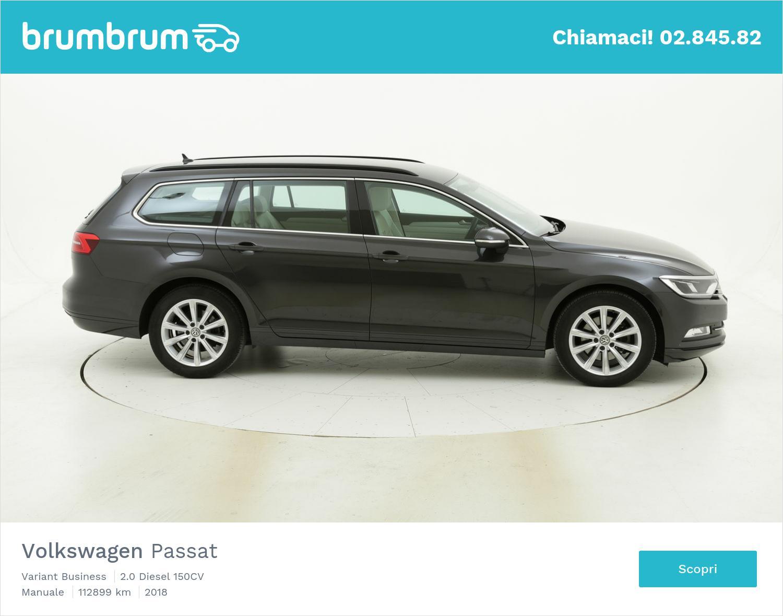 Volkswagen Passat usata del 2018 con 112.937 km   brumbrum