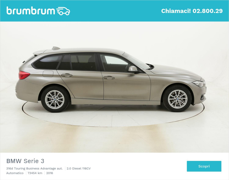 BMW Serie 3 316d Touring Business Advantage aut. usata del 2016 con 73.559 km | brumbrum