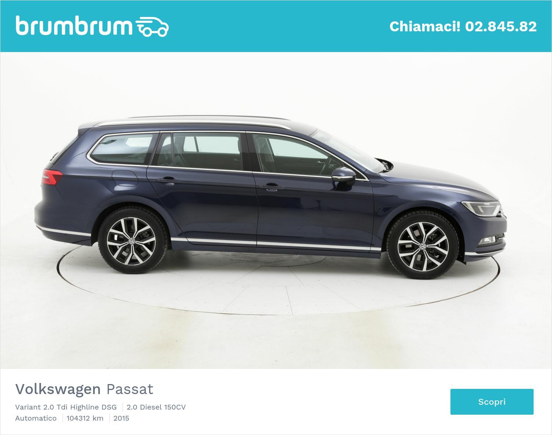 Volkswagen Passat usata del 2015 con 104.890 km | brumbrum