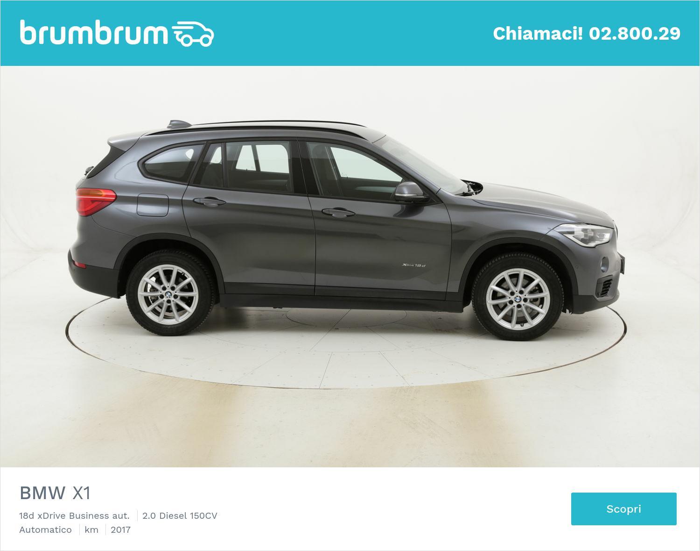 BMW X1 18d xDrive Business aut. usata del 2017 con 46.858 km | brumbrum