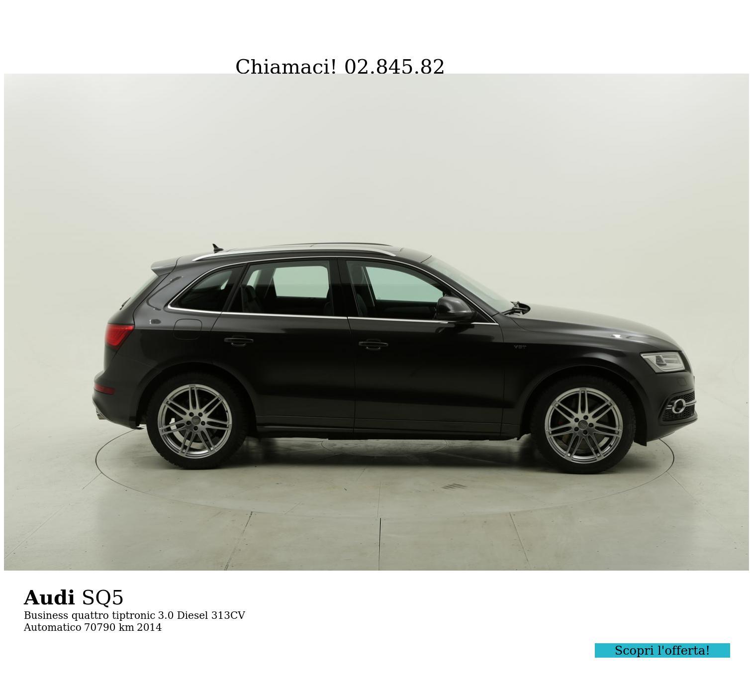 Audi SQ5 usata del 2014 con 70.957 km | brumbrum