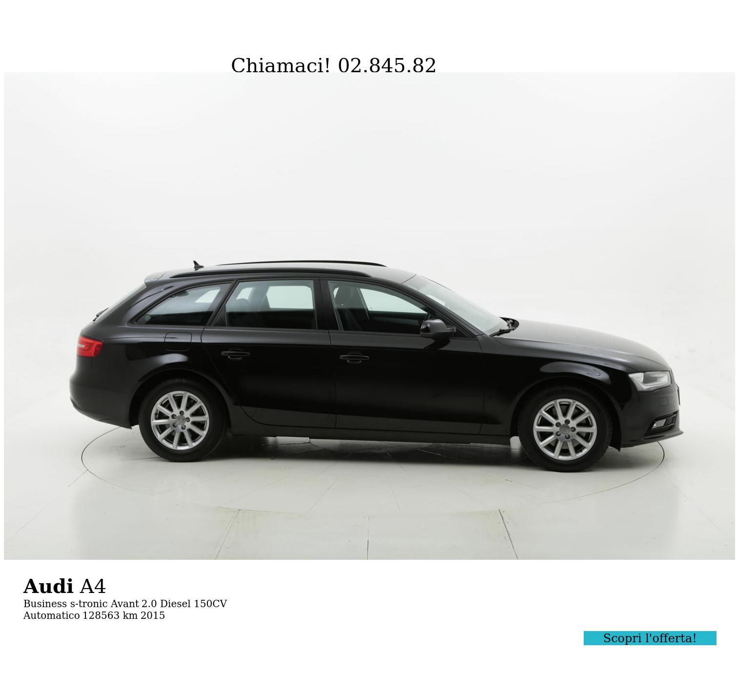 Audi A4 usata del 2015 con 128.687 km | brumbrum