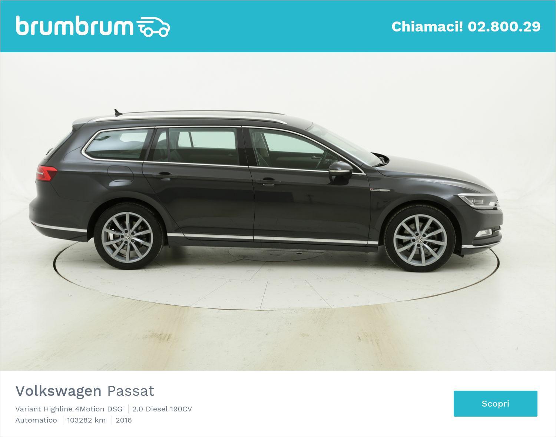 Volkswagen Passat Variant Highline 4Motion DSG usata del 2016 con 103.360 km | brumbrum
