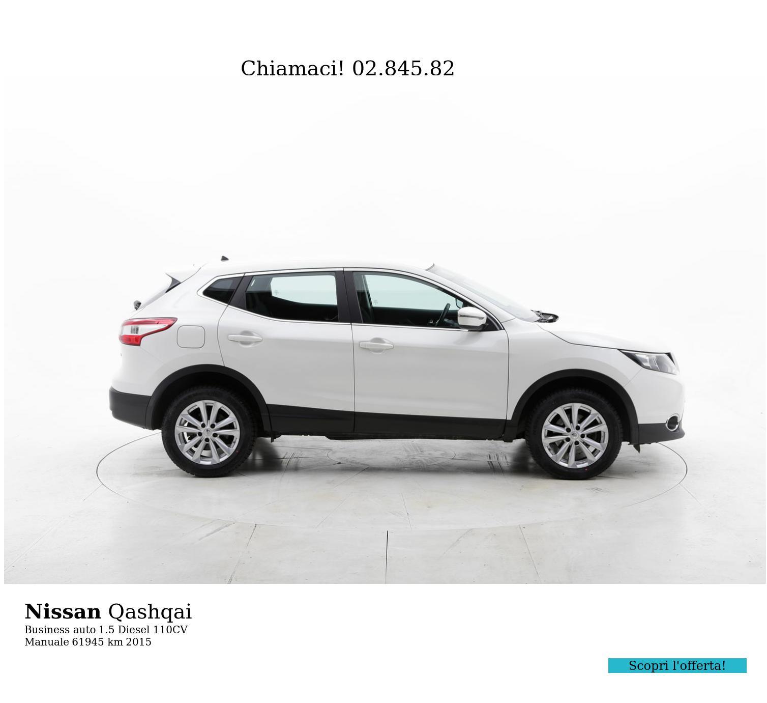 Nissan Qashqai usata del 2015 con 62.019 km | brumbrum