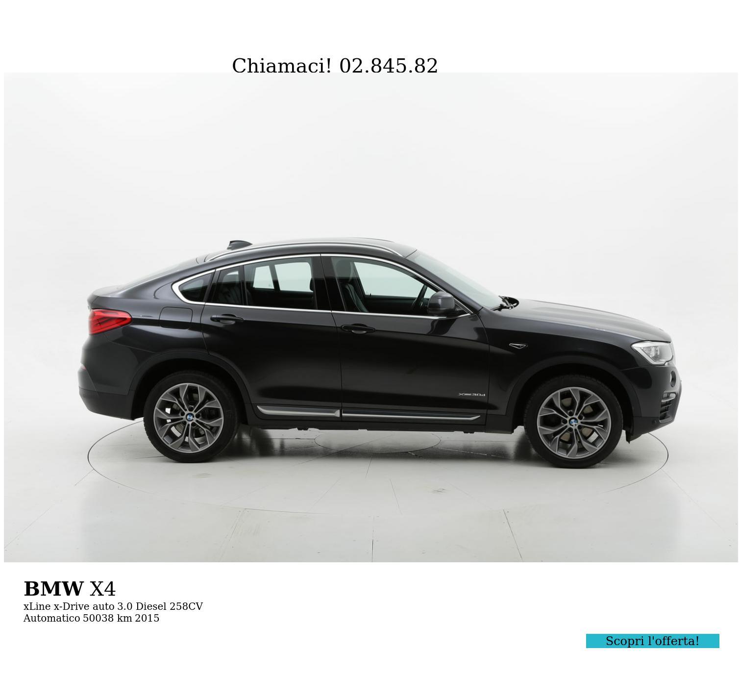 BMW X4 usata del 2015 con 53.489 km | brumbrum