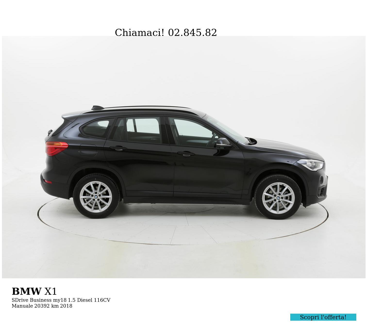 BMW X1 usata del 2018 con 20.433 km | brumbrum