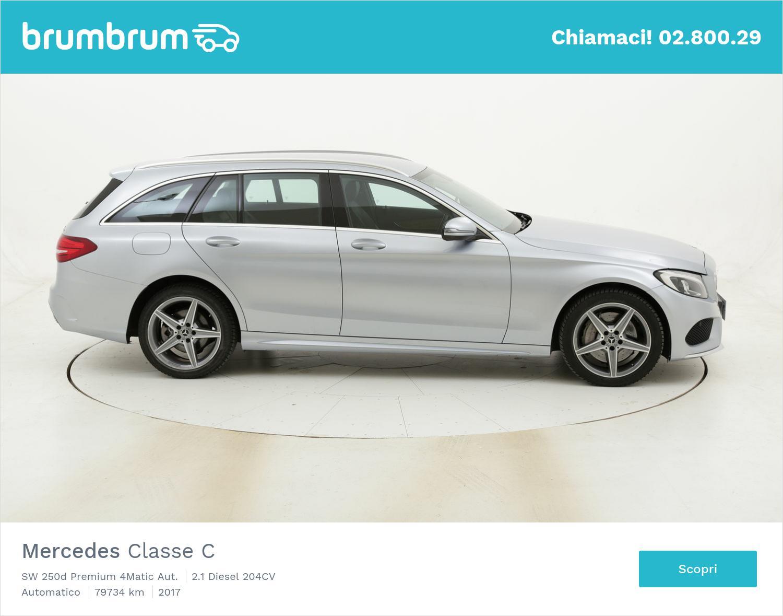 Mercedes Classe C SW 250d Premium 4Matic Aut. usata del 2017 con 80.203 km | brumbrum