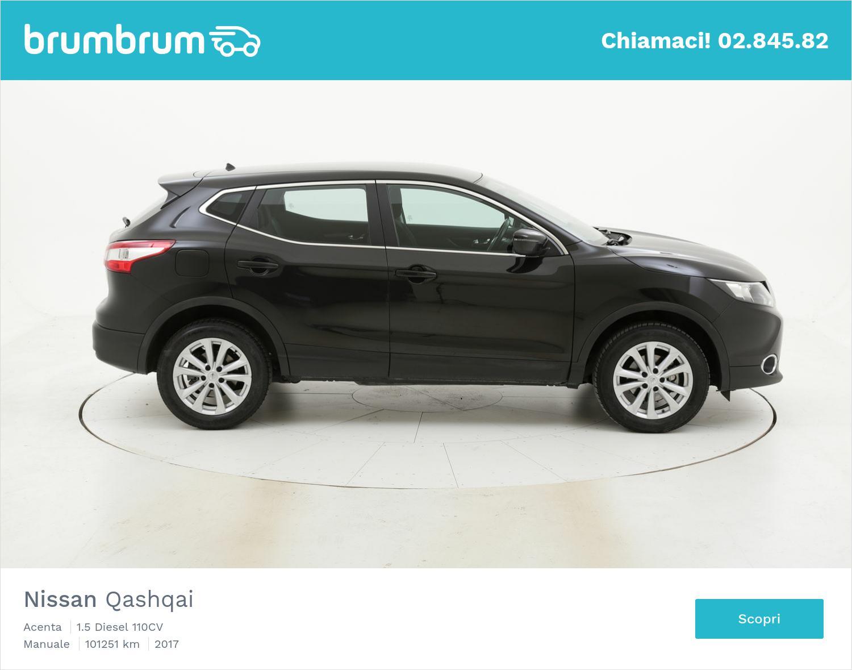 Nissan Qashqai usata del 2017 con 101.366 km | brumbrum