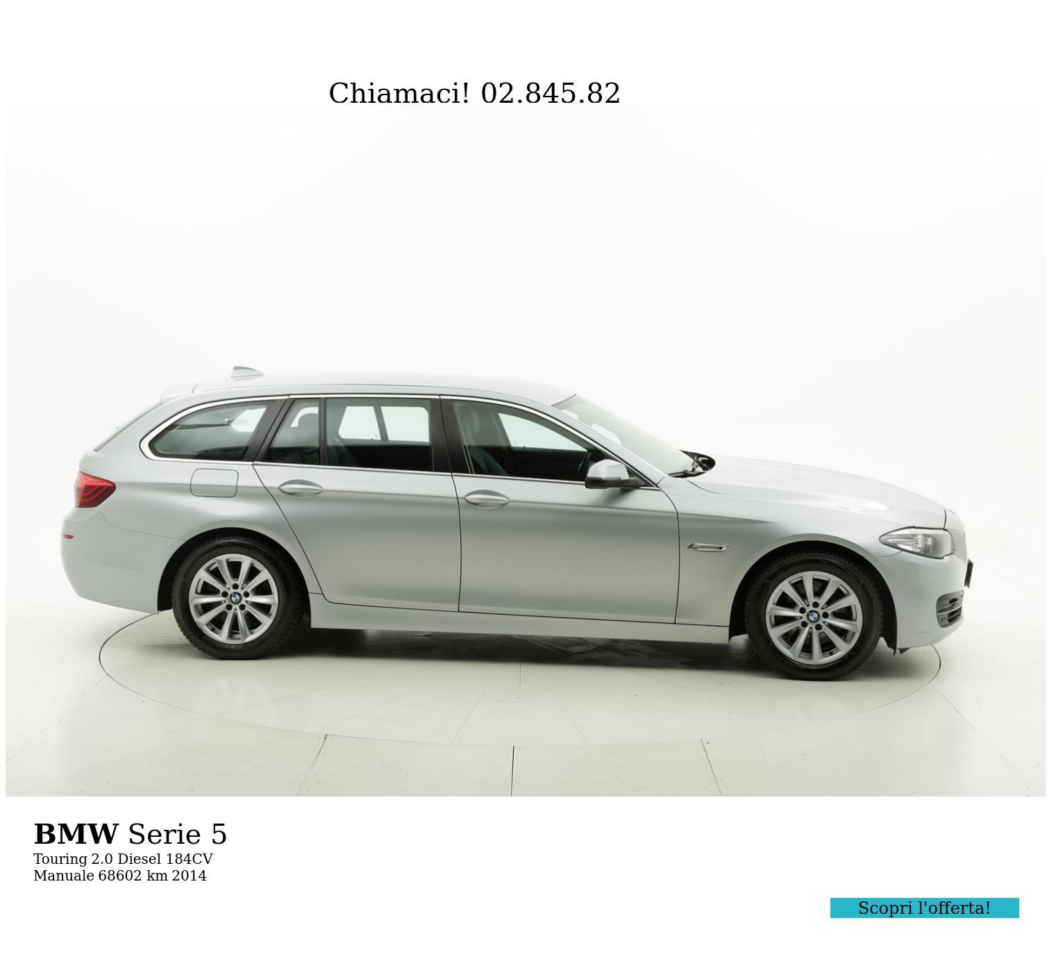 BMW Serie 5 usata del 2014 con 68.803 km | brumbrum