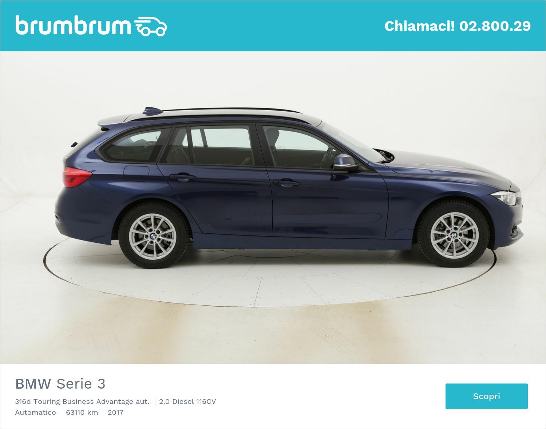 BMW Serie 3 316d Touring Business Advantage aut. usata del 2017 con 63.431 km   brumbrum