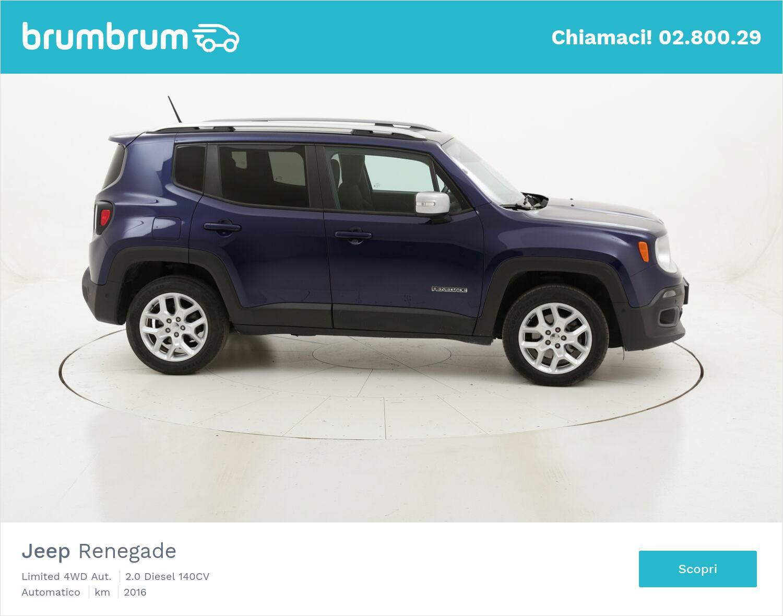 Jeep Renegade Limited 4WD Aut. usata del 2016 con 81.428 km | brumbrum
