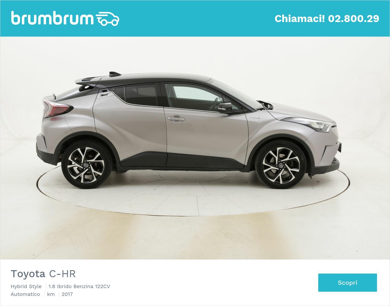 Toyota C-HR Hybrid Style usata del 2017 con 53.848 km | brumbrum