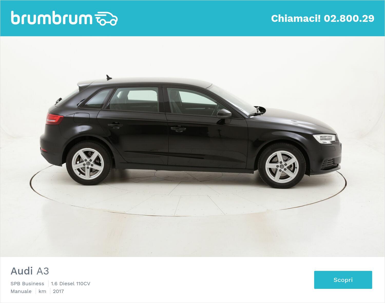 Audi A3 SPB Business usata del 2017 con 40.994 km | brumbrum