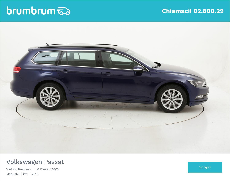 Volkswagen Passat Variant Business usata del 2018 con 128.916 km   brumbrum