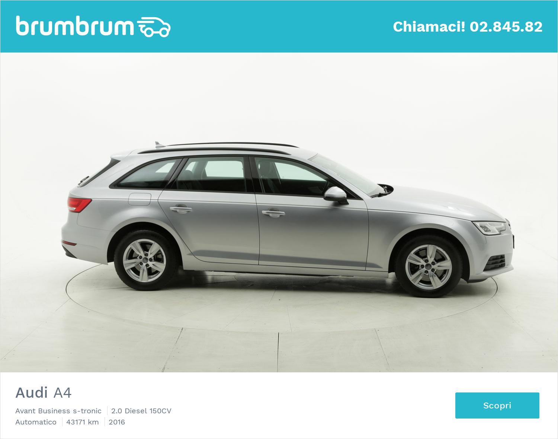 Audi A4 usata del 2016 con 43.249 km | brumbrum