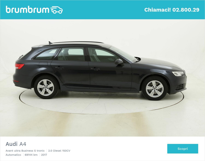 Audi A4 Avant ultra Business S tronic usata del 2017 con 69.431 km | brumbrum