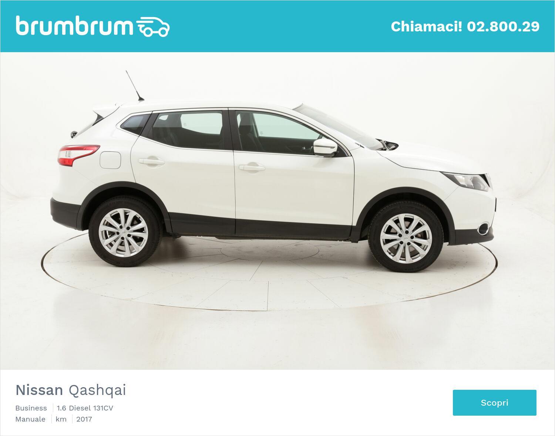 Nissan Qashqai Business usata del 2017 con 96.401 km   brumbrum