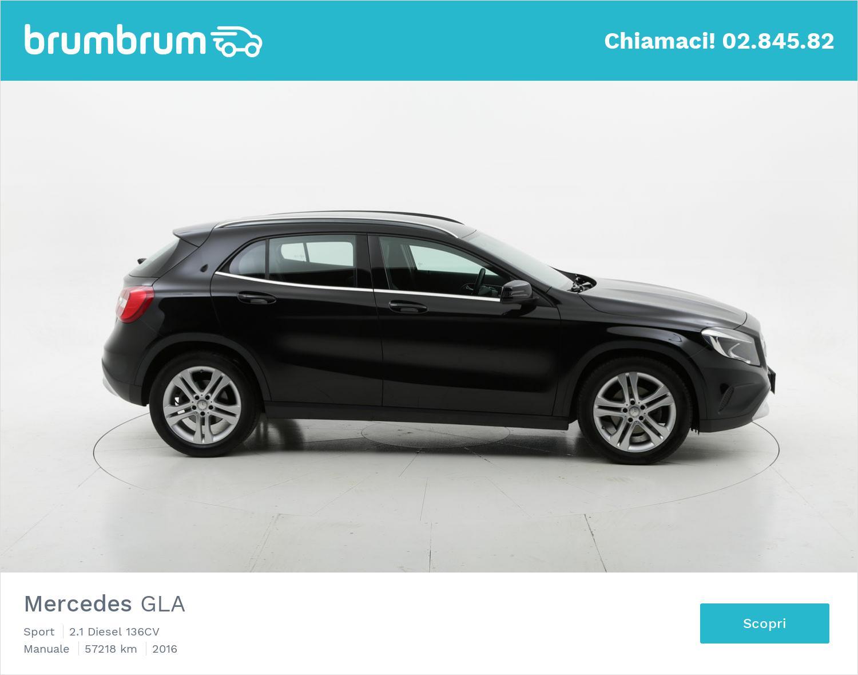 Mercedes GLA usata del 2016 con 57.375 km   brumbrum