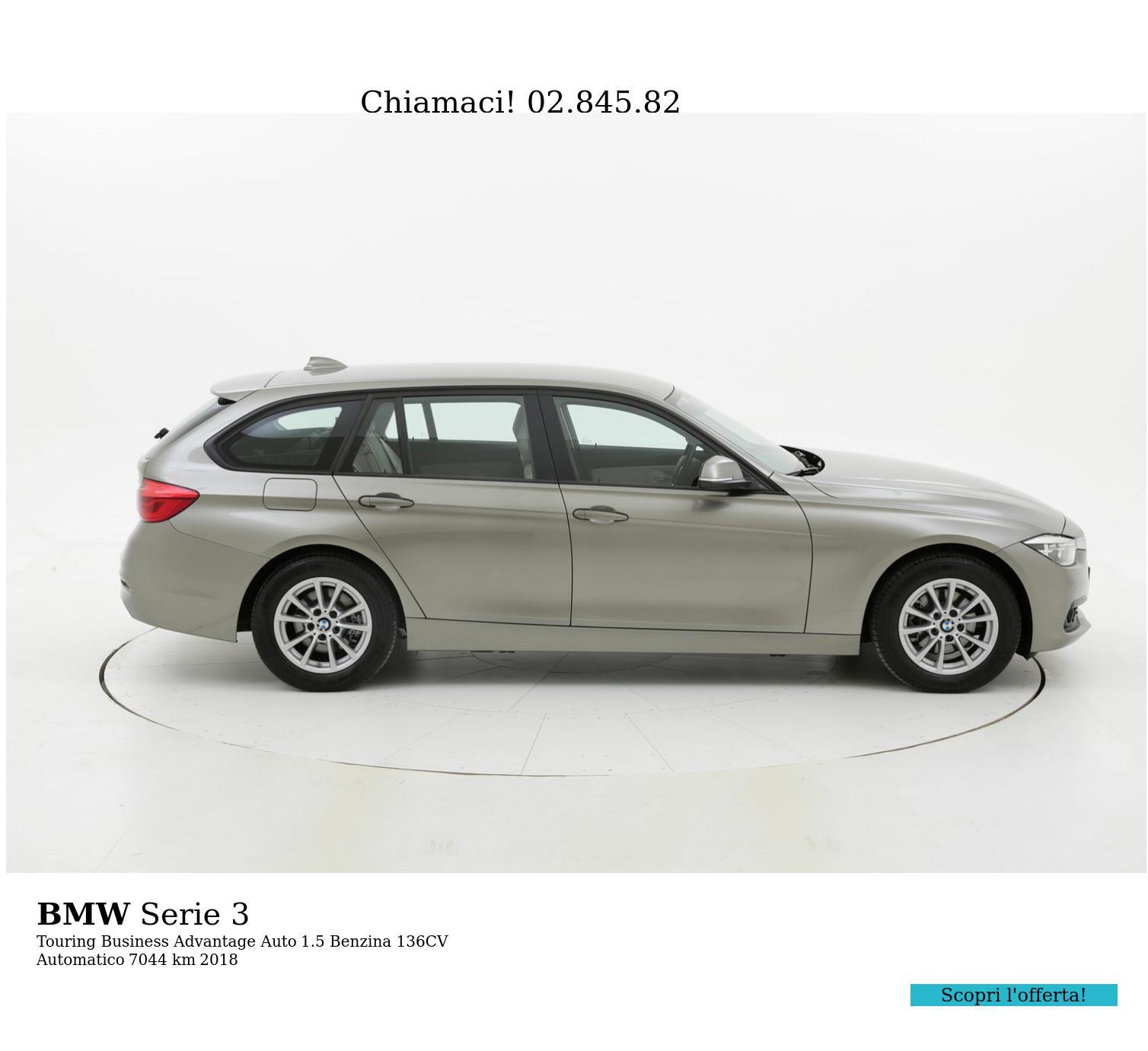 BMW Serie 3 usata del 2018 con 7.679 km | brumbrum