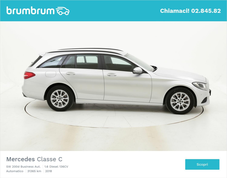 Mercedes Classe C usata del 2018 con 31.380 km | brumbrum