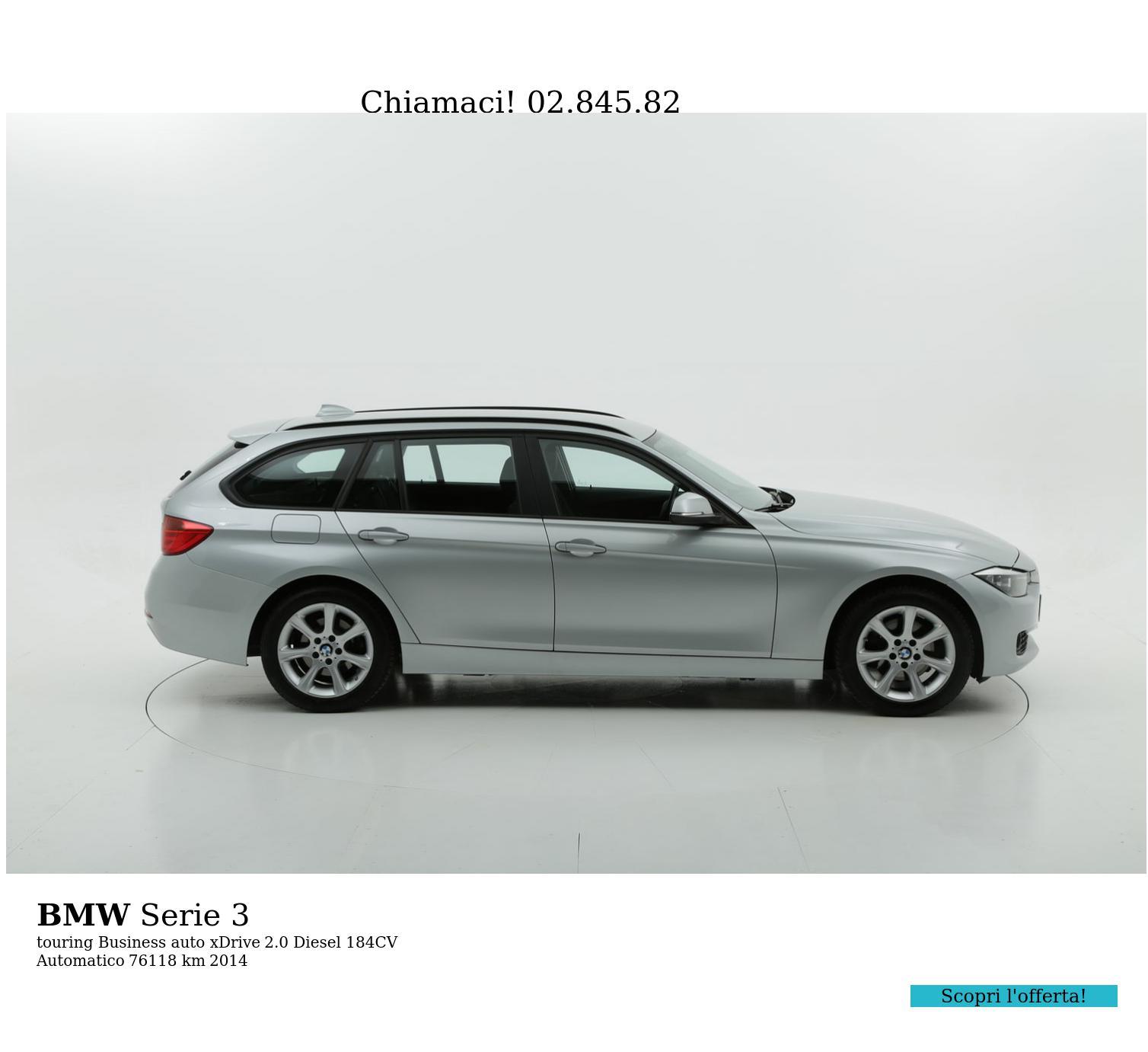BMW Serie 3 usata del 2014 con 76.701 km   brumbrum