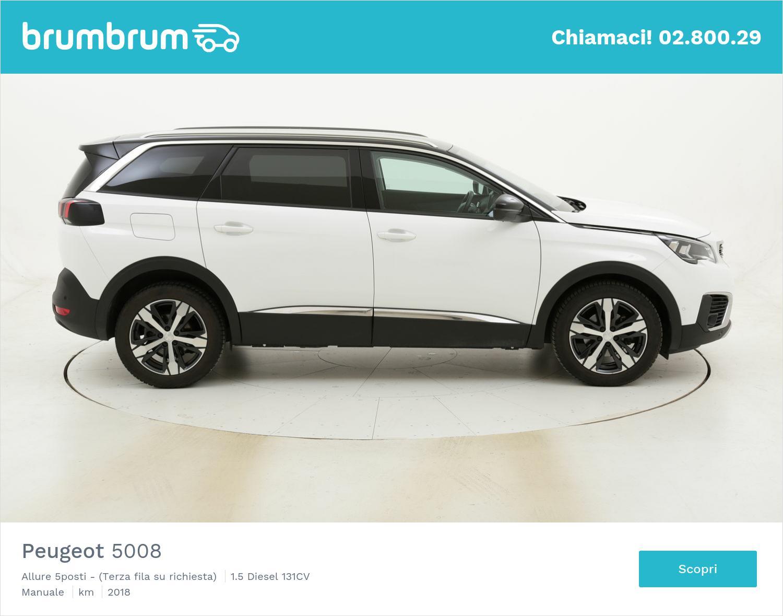Peugeot 5008 Allure 5posti - (Terza fila su richiesta) usata del 2018 con 75.179 km | brumbrum