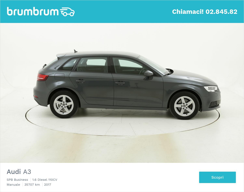 Audi A3 usata del 2017 con 36.195 km | brumbrum