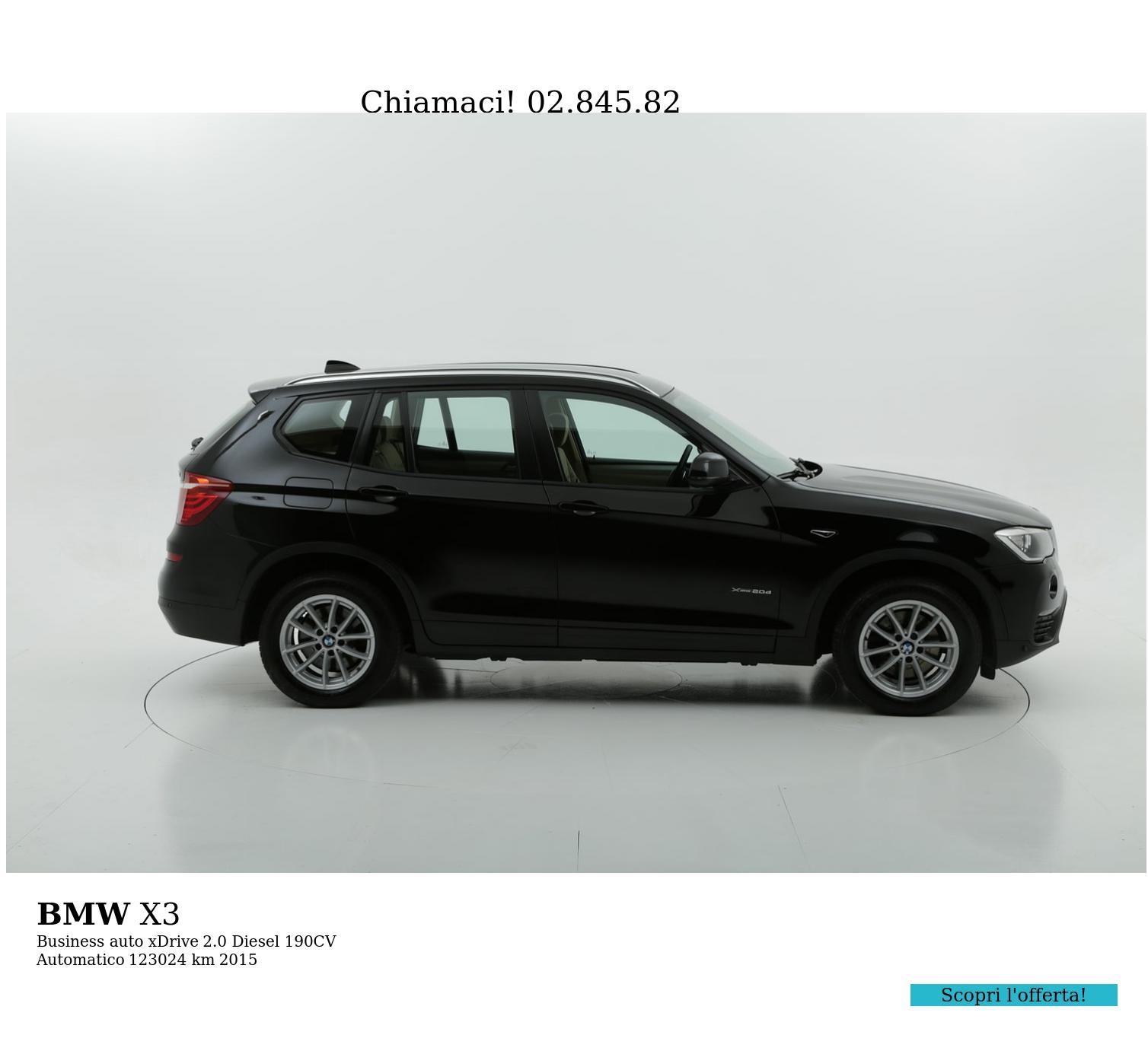 BMW X3 usata del 2015 con 123.129 km | brumbrum
