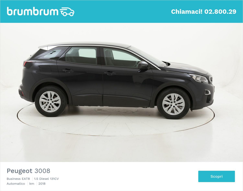 Peugeot 3008 Business EAT8 usata del 2018 con 71.000 km   brumbrum