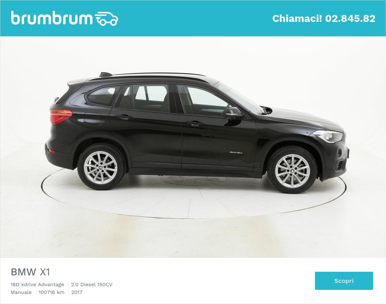 BMW X1 usata del 2017 con 100.889 km | brumbrum