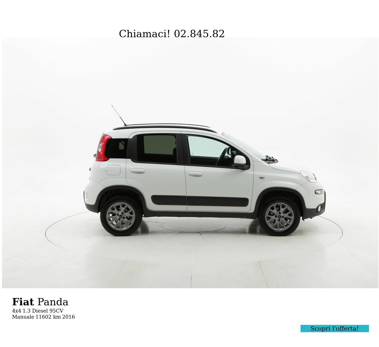 Fiat Panda usata del 2016 con 11.625 km | brumbrum