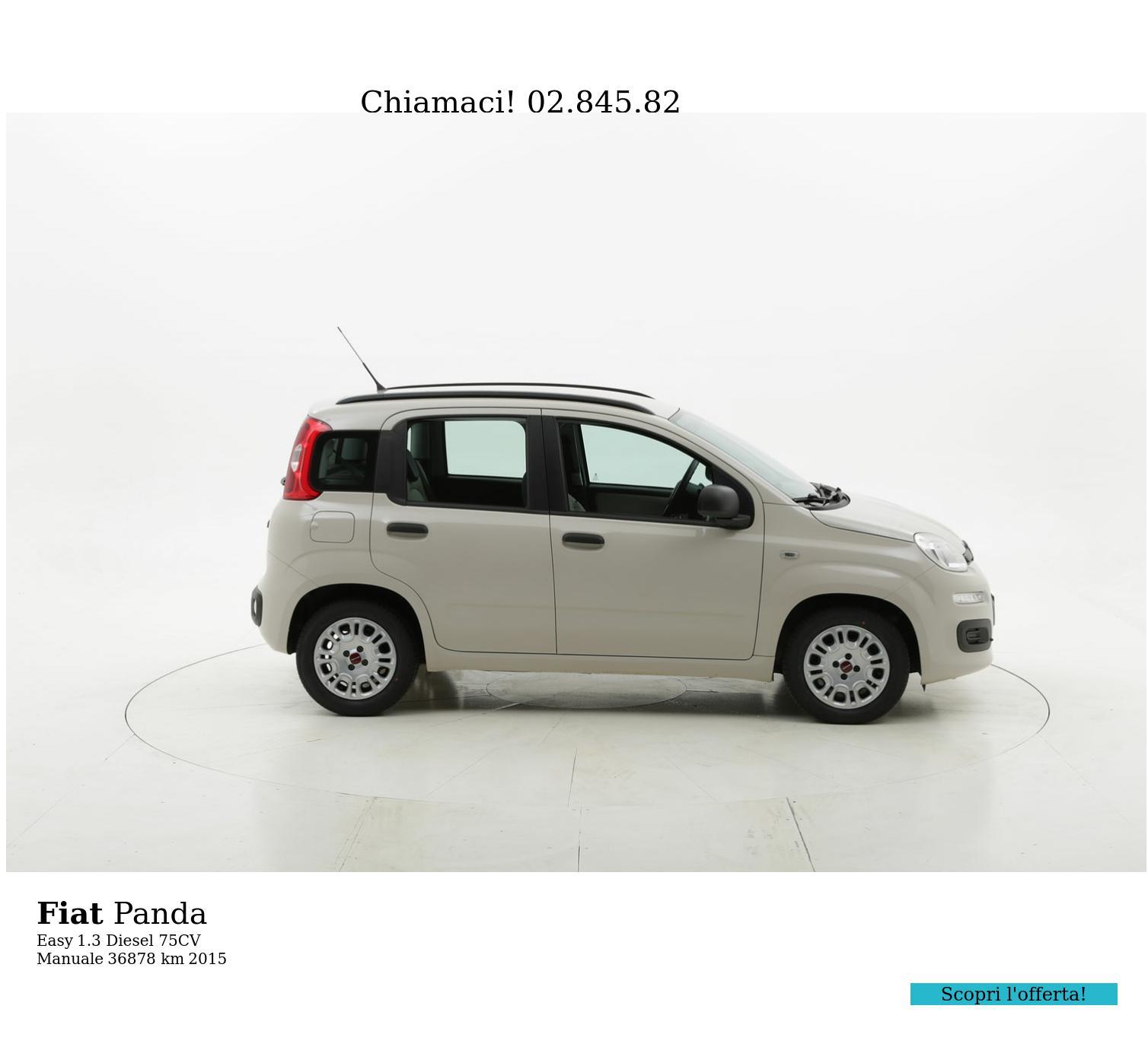 Fiat Panda usata del 2015 con 36.903 km   brumbrum