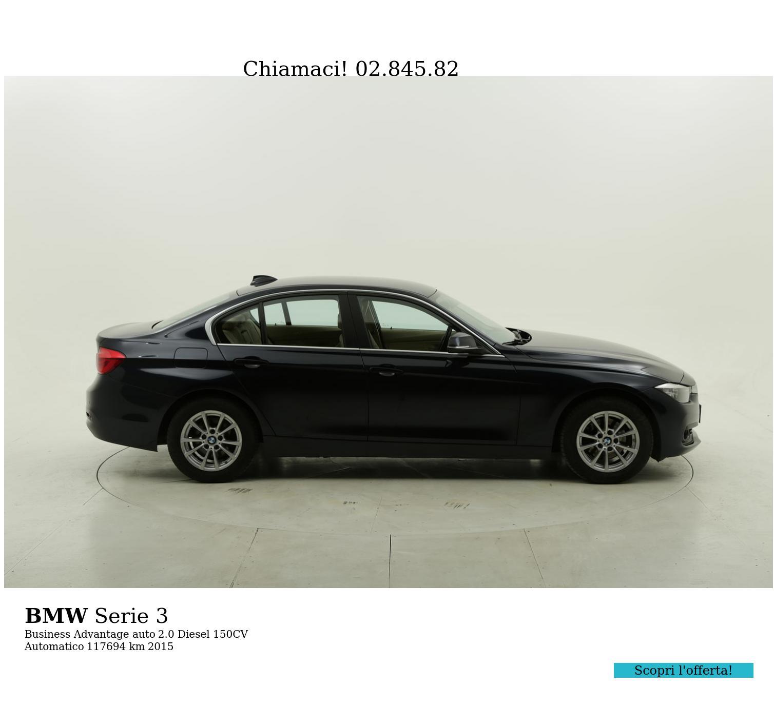 BMW Serie 3 usata del 2015 con 117.995 km | brumbrum