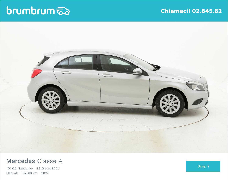 Mercedes Classe A usata del 2015 con 62.585 km | brumbrum