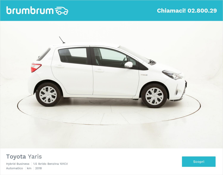 Toyota Yaris Hybrid Business usata del 2018 con 43.768 km   brumbrum