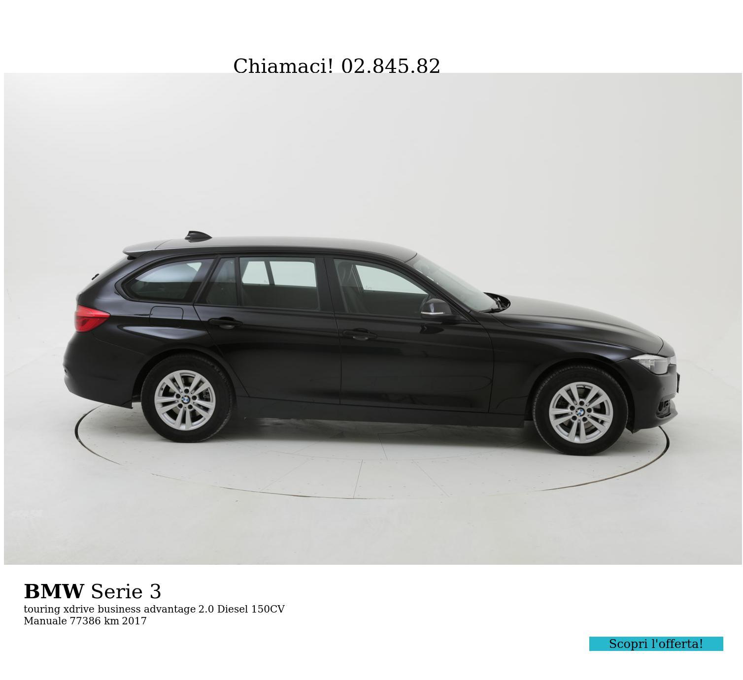 BMW Serie 3 usata del 2017 con 77.403 km | brumbrum