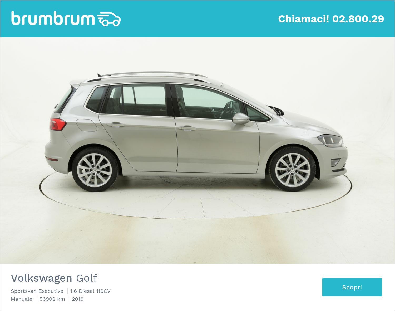 Volkswagen Golf Sportsvan Executive usata del 2016 con 57.179 km   brumbrum