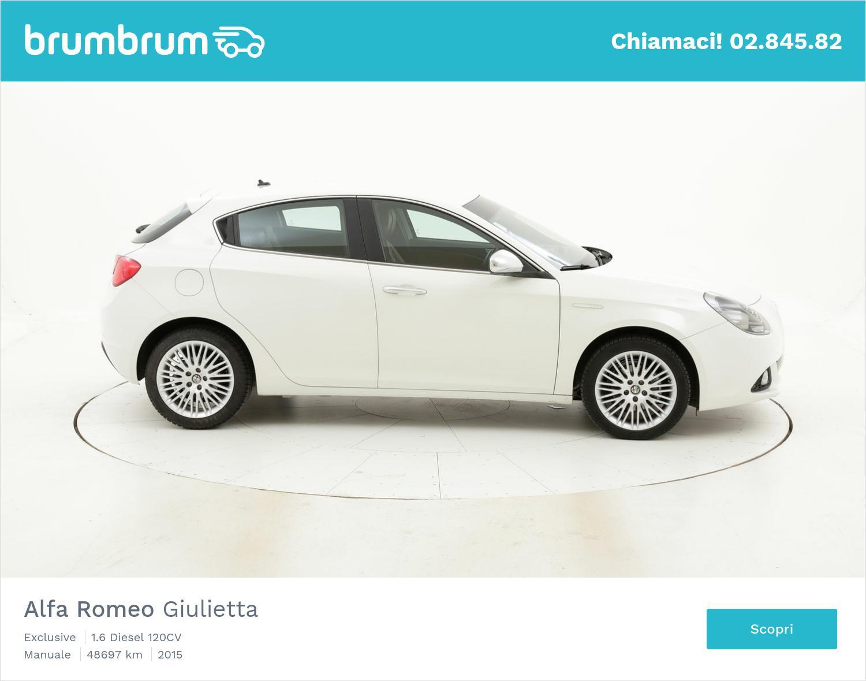 Alfa Romeo Giulietta usata del 2015 con 48.840 km   brumbrum
