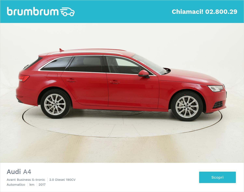 Audi A4 usata del 2017 con 73.420 km   brumbrum