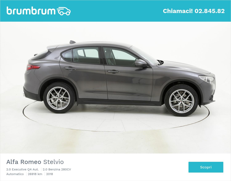 Alfa Romeo Stelvio usata del 2018 con 27.173 km | brumbrum