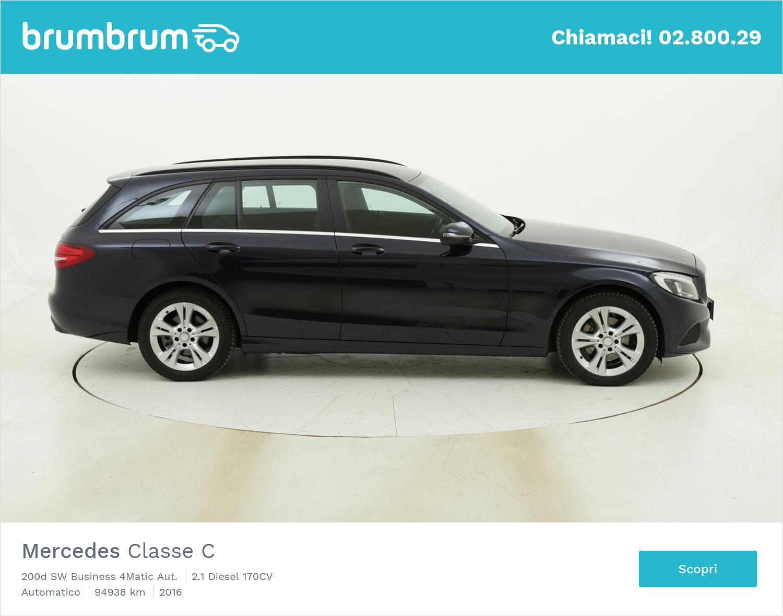 Mercedes Classe C 200d SW Business 4Matic Aut. usata del 2016 con 94.948 km | brumbrum