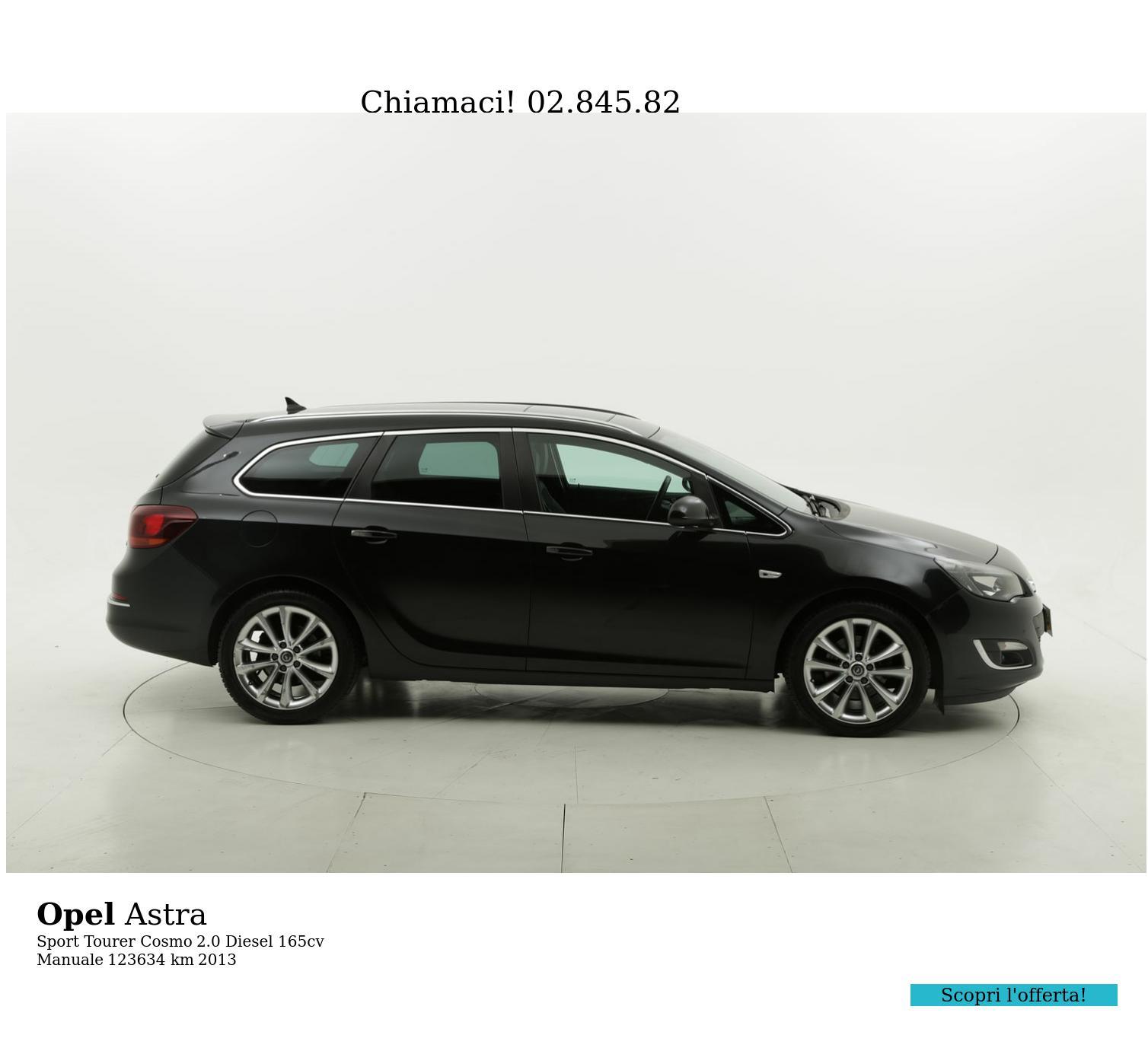 Opel Astra usata del 2013 con 124.282 km   brumbrum