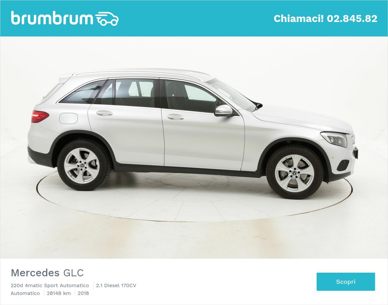 Mercedes GLC usata del 2018 con 28.382 km | brumbrum