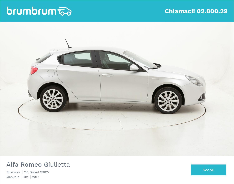 Alfa Romeo Giulietta Business usata del 2017 con 50.621 km   brumbrum