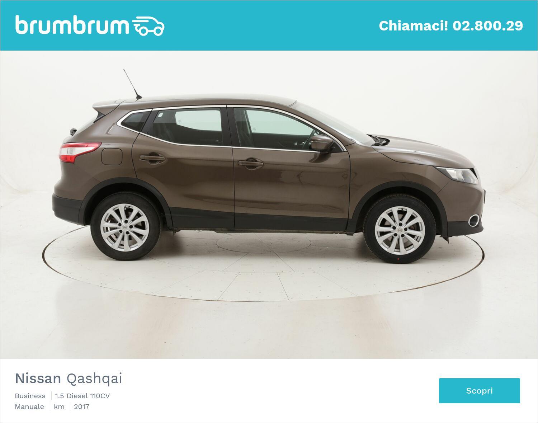 Nissan Qashqai Business usata del 2017 con 72.539 km   brumbrum