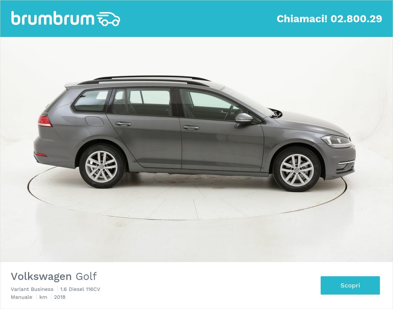 Volkswagen Golf Variant Business usata del 2018 con 102.214 km   brumbrum