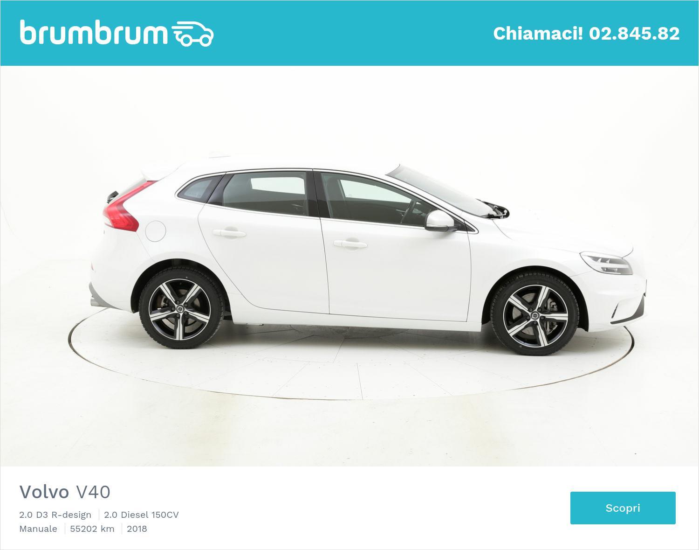 Volvo V40 usata del 2018 con 55.323 km   brumbrum